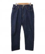 CIOTA(シオタ)の古着「本藍スピンコットン13.5ozストレートデニム」|インディゴ