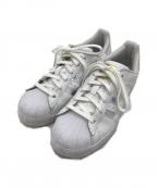 adidas()の古着「ローカットスニーカー」|ホワイト×シルバー
