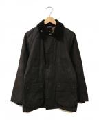 Barbour()の古着「オイルドジャケット」 ブラック