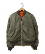 ALPHA INDUSTRIES(アルファインダストリーズ)の古着「L2-Bジャケット」|グリーン