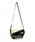 FREITAG(フライターグ)の古着「ショルダーバッグ」|ホワイト×ブラック