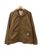 Trophy Clothing(トロフィークロージング)の古着「ワークカバーオール」 ブラウン