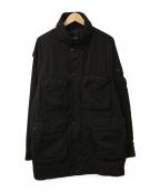 BEAMS()の古着「マルチポケットブルゾン」|ブラック