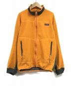 Patagonia(パタゴニア)の古着「フリースジャケット」|オレンジ
