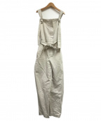 TELA(テラ)の古着「オールインワン」|ホワイト