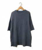 crepuscule(クレプスキュール)の古着「サマーニット」|ブルー