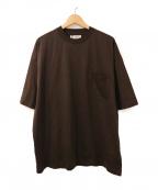 UNFIL(アンフィル)の古着「ポケットTシャツ」|ブラウン
