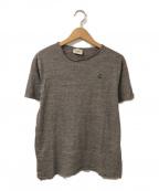Cruciani(クルチアーニ)の古着「ワンポイントTシャツ」|グレー