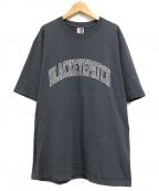 THE BLACK EYE PATCH(ザブラックアイパッチ)の古着「アーチロゴTシャツ」 グレー
