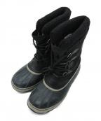 SOREL(ソレル)の古着「スノーブーツ」|ブラック