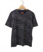 missoni(ミッソーニ)の古着「総柄ミックスTシャツ」 ネイビー