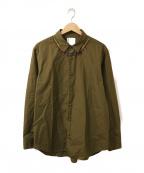 BRU NA BOINNE(ブルーナボイン)の古着「エフリートシャツ」|オリーブ