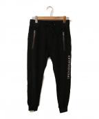 1piu1uguale3(ウノピゥウノウグァーレトレ)の古着「ジョガーパンツ」|ブラック