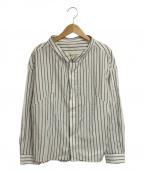 THE SHINZONE(ザ シンゾーン)の古着「ストライプシャツ」|ホワイト