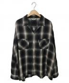 COOTIE(クーティー)の古着「オープンカラーシャツ」|ブラック