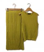 LAUTRE AMONT(ロートレアモン)の古着「セットアップニット」 グリーン