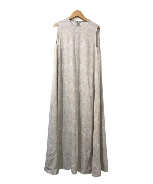 STEVEN ALAN(スティーブンアラン)STEVEN ALAN (スティーブンアラン) JACQUARD FLARE DRESS ホワイト サイズ:S 未使用品の古着・服飾アイテム