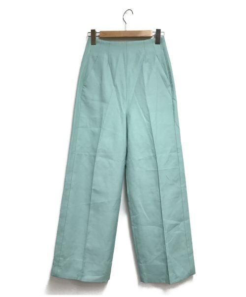 styling/ kei shirahata(スタイリング / ケイ シラハタ)styling/ kei shirahata (スタイリング / ケイ シラハタ) ワイドパンツ ブルー サイズ:SIZE0の古着・服飾アイテム