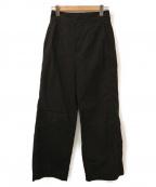 styling/ kei shirahata()の古着「ワイドパンツ」|ブラック