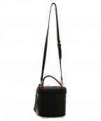 CHRISTIAN VILLA(クリスチャンヴィラ)の古着「2WAYバケットバッグ」|ブラック