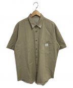 PAPAS(パパス)の古着「ワイドS/Sシャツ」 ベージュ
