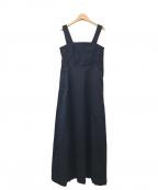 CLANE(クラネ)の古着「サロペットスカート」|ネイビー
