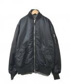 uniform experiment(ユニフォームエクスペリメント)の古着「REVERSIBLE MA-1」|ブラック