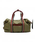 Orobianco(オロビアンコ)の古着「トリコーロール2WAYバッグ」|ベージュ