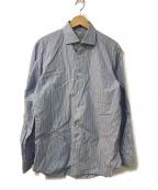 SOVEREIGN(ソブリン)の古着「ストライプシャツ」|スカイブルー×ホワイト