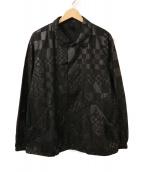 ()の古着「E-black ジャケット」|ブラック
