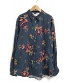 ()の古着「L/Sシャツ」|ネイビー
