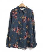PAUL SMITH(ポールスミス)の古着「L/Sシャツ」 ネイビー