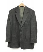 ()の古着「カシミヤ混テーラードジャケット」|カーキ
