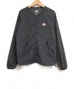 DANTON(ダントン)の古着「カラーレスダウンジャケット」|ブラック