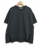 ()の古着「ワイドTシャツ」 ブラック