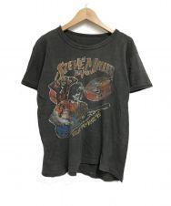 Steve MILLER BAND (スティーブミラーバンド) ヴィンテージTシャツ ブラック サイズ:表記無し