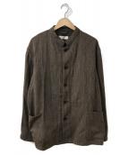()の古着「カラーレスジャケット」 ブラウン