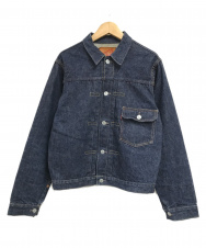 DENIME (ドゥニーム) 1stタイプデニムジャケット インディゴ サイズ:M