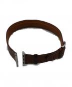HERMES(エルメス)の古着「Apple Watch ベルト」 ブラウン