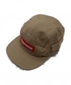 SUPREME(シュプリーム)の古着「Wildlife Side Pocket Camp Cap」|ベージュ