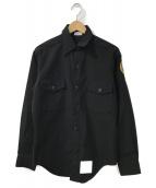()の古着「ワークジャケット」 ブラック