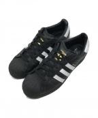 adidas()の古着「ローカットスニーカー」|ホワイト×ブラック