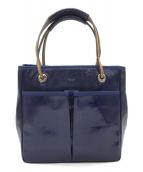 ()の古着「ハンドバッグ」|ブルー