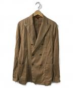 BARENA(バレナ)の古着「ダブルブレストジャケット」|ベージュ