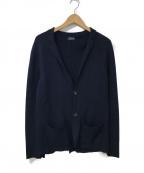 Drumohr(ドゥルモア)の古着「ニットジャケット」|ネイビー