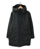 ()の古着「ダウンコート」|ブラック