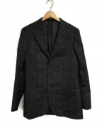 SOVEREIGN(ソブリン)の古着「BREEZYウールコットン3Bジャケット」|ブラウン