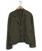 URU(ウル)の古着「コットンショートジャケット」|ブラウン