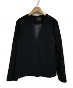 Demi-Luxe Beams(デミルクス ビームス)の古着「ウールサッカー オーバージャケット」 ネイビー
