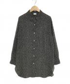 IENA LA BOUCLE(イエナ ラ ブークル)の古着「ブライトサッカーシャツ」|ブラック